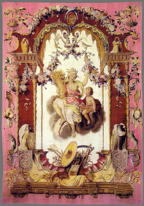 Tapisserie Gobelins by Beauvais Tapestries Babylon Baroque