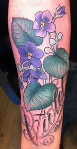 Violet tattoo, African violet and Violets on Pinterest