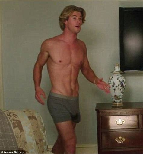 jamie harrison spent so long chrishemsworth on wearing a prosthetic penis for that