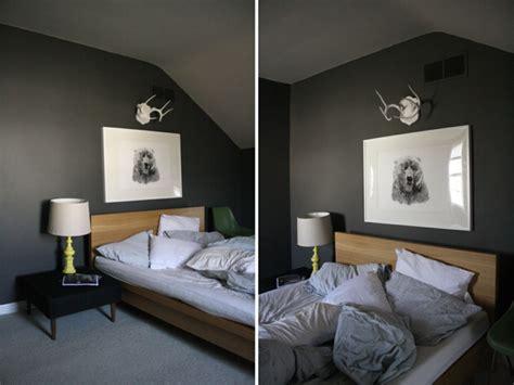 tolle vorschlaege fuer schlafzimmer  grau
