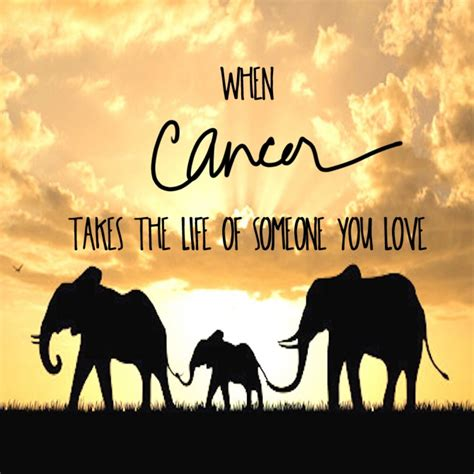 cancer takes  life    love