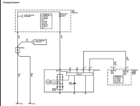 Alternator Wiring Harness Diagram Chevrolet Colorado