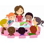 Teacher Care Cartoon Clipart Child Maestra Children