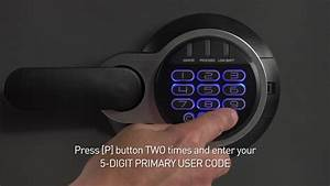 Sentry Safe Electronic Lock Instructions