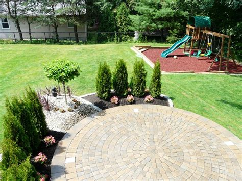 landscape around patio done right landscape construction wakefield ma 01880 781 858 8000