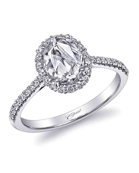 oval engagement rings for the bride to be martha stewart