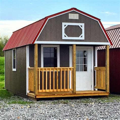 cabin sheds lofted barn cabin cumberland buildings sheds