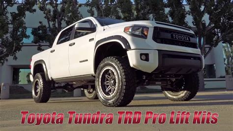 toyota tundra trd pro lift solutions  readylift youtube