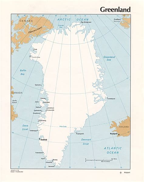 greenland map geography  maps  greenland