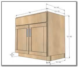 Depth Of Base Cabinets by Sink Base Cabinet Standard Sizes Natashainanutshell Com