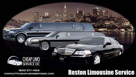 Cheap Limo Service by The Number One Reston Limo Service Is The One That Offers