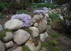 Pflanzen Für Trockenmauer : naturstein trockenmauer bepflanzen geignete pflanzen f r mauerfugen front landscape ~ Orissabook.com Haus und Dekorationen
