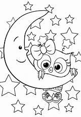 Coloring Bojanke Cuties Coloriage Bonton Sheets Animal Owl Moon Preschool Printables Bontontv Malvorlagen Disney Unicorn Slatkice Printable Za Fille раскраски sketch template