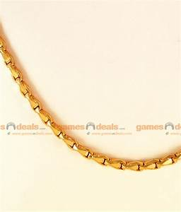 CGLM09 - Gold Plated Jewely Traditional Plain Wheat Chain ...