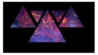 Galaxy Triangle Wallpaper by LightBow69 on DeviantArt  Hipster Triangle Galaxy Wallpaper