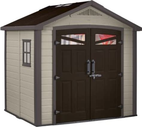 Keter Storage Shed 8x6 by Keter Bellevue Apex 8x6 Garden Shed Shed Price Comparison