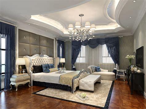 Home Design American Style Villa Bedroom Decoration