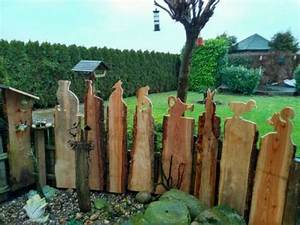 Holz Im Garten : zaun gucker figur holz garten deko in niedersachsen dersum basteln handarbeiten und ~ Frokenaadalensverden.com Haus und Dekorationen