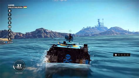 Car Boat Games by The Amazing Just Cause 3 Car Boat Youtube