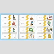 Phase 5 Real Oe Split Digraph Words Matching Cards