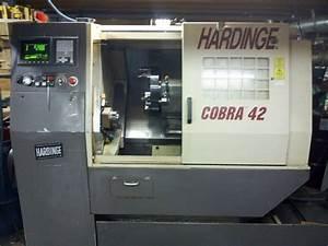 Used Hardinge Cobra 42 Cnc Lathe