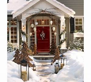 Pinterest outdoor xmas decorating