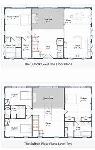 30 barndominium floor plans for different purpose With 2 story metal building home plans