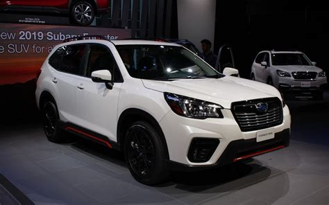 redesigned  spacious  subaru forester unveiled