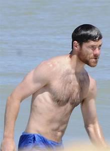 Xabi Alonso Enjoys a Day at the Beach - Zimbio