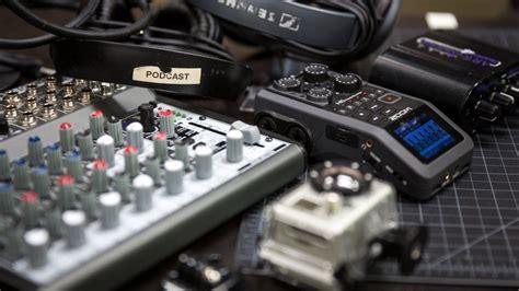 podcasting equipment   budgets tech talks