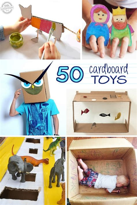 amazing cardboard crafts   released  kids