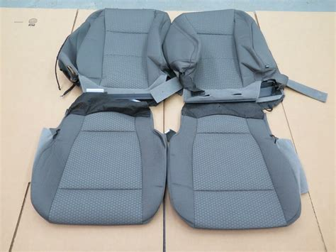 2015 2016 Ford F150 Xlt Truck Oem Front Seat Cover Set Med