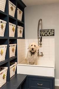 Dog Wash Sink Kitchen Farmhouse With Cream Colored Kitchen
