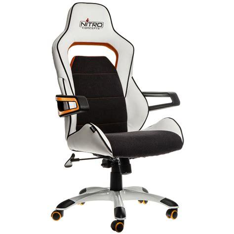e220 evo gaming chair white orange nitro concepts