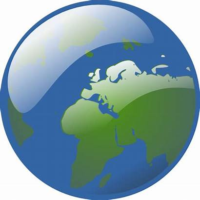 Globe Animated Clipart Earth Clip Powerpoint Vector