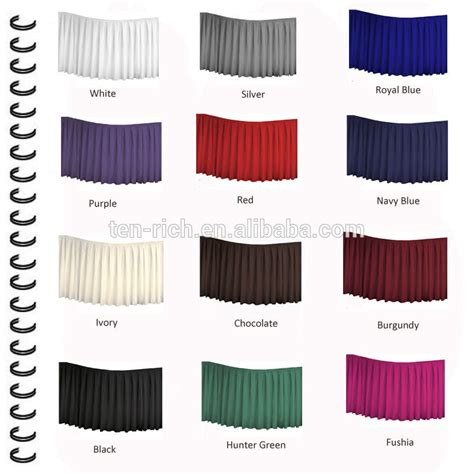 table cloth skirting design fitted style in polyester table cover buy table skirting
