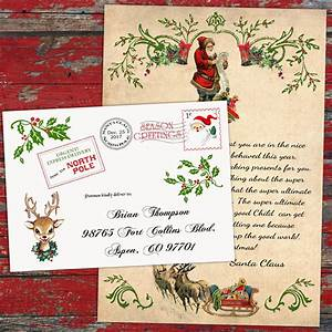 letter from santa claus personalized official north pole With personalized letters from santa north pole