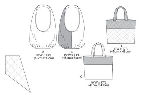 Butterick 5799 Bags