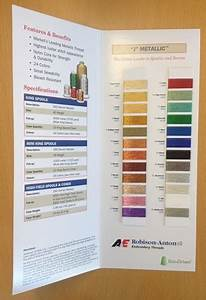 Robison Anton Thread Conversion Chart Robison Anton Color Charts Robison Anton Europe