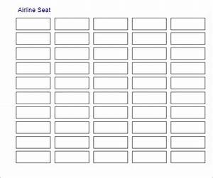 Free 15  Printable Free Seating Chart Templates In Word