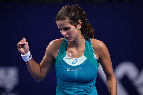 julia goerges match julia goerges is enjoying life on the tour and improving