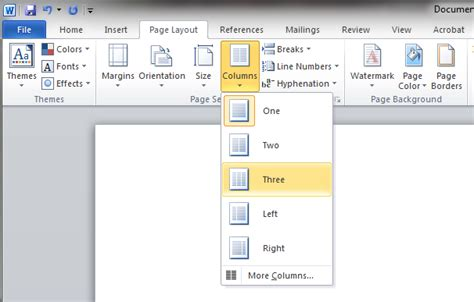How To Set Up And Create A Tri Fold How To Make A Brochure On Word