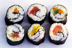 Japanese Sushi Roll (Makizushi) with Canned Tuna Salad
