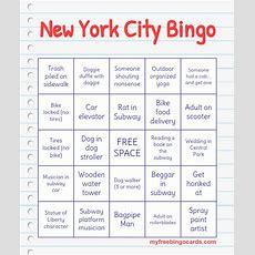 New York City Bingo