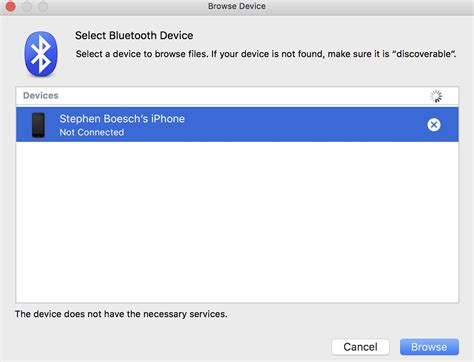 iphone bluetooth pairing iphone 5c bluetooth pairing with mac quot the device does not
