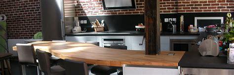 renovation cuisine professionnelle flip design fabricant de plan de travail en bois massif sur mesureflip design bois