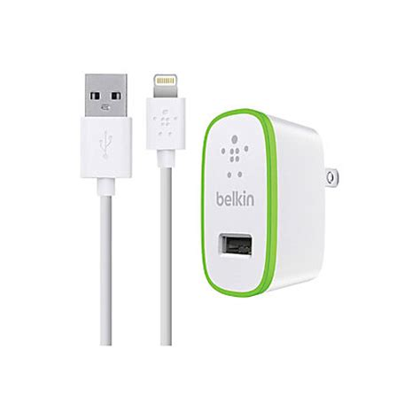 belkin iphone charger belkin iphone and lightning cable and wall charger