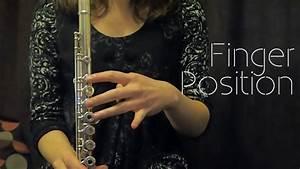 Beginner Flute - Finger Position On The Flute