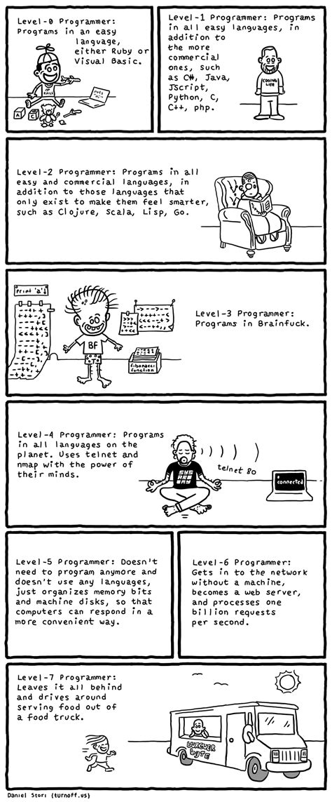 Programmer Levels