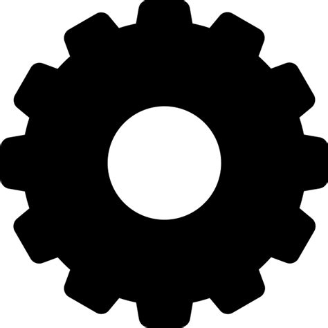 Black Config Or Tool Vector Data For Free Svg(vector